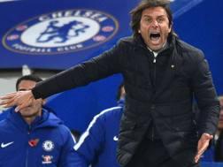 Antonio Conte ai tempi del Chelsea. Afp