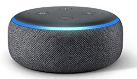 L'assistente Alexa integrato in Amazon Echo.