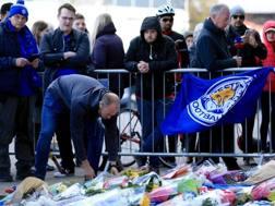 L'omaggio dei tifosi del Leicester. Getty