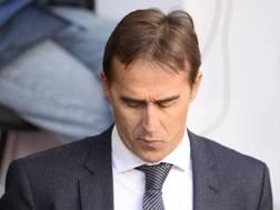 Julen Lopetegui, esonerato dal Real Madrid. Afp