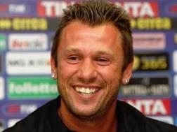 Antonio Cassano, ex attaccante della Samp. Getty