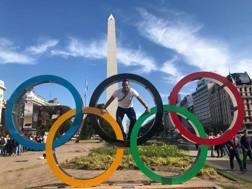 Davide Benetello, membro Commissione Esecutiva WKF e CIO a Buenos Aires per i Giochi Giovanili