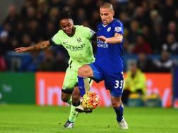Gokhan Inler in azione con la maglia del Leicester. Getty Images