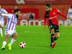 Daniele Verde, 22 anni, in azione con il Valladolid