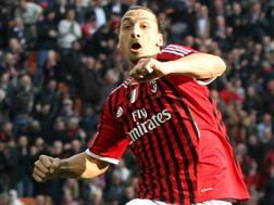 Zlatan Ibrahimovic, 37 anni, al Milan dal 2010 al 2012. Ansa