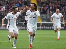 Udinese-Milan dello scorso anno. Lapresse