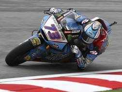 Alex Marquez in azione. Ap