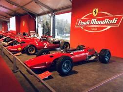 Alcune delle stupende Ferrari da ammirare a Monza