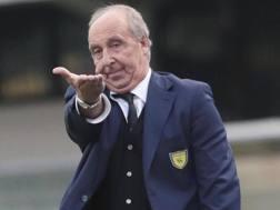 Gian Piero Ventura , allenatore del Chievo. Ansa