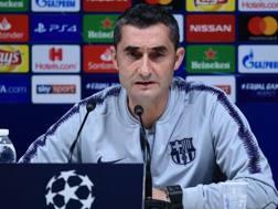 Ernesto Valverde. Afp