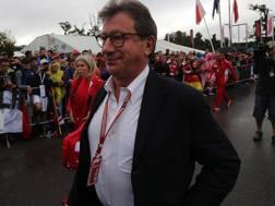 Louis Camilleri, a.d. della Ferrari. LaPresse