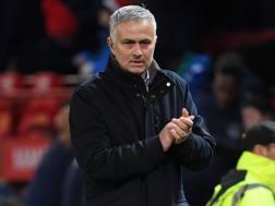 José Mourinho, 53 anni, manager del Manchester United. Afp