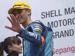 Luca Marini ha vinto il suo primo GP in Moto2. Getty