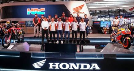 Parata della Honda all'Eicma