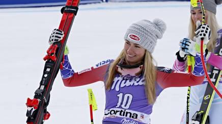 Mikaela Shiffrin. Getty