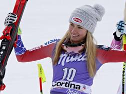 Mikaela Shiffrin. Getty