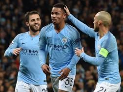 L'esultanza del Manchester City. AFP