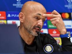 Luciano Spalletti, tecnico dell'Inter. Ansa