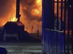 L'esplosione dell'elicottero del presidente del Leicester