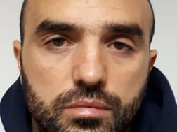 Davide Sau, fratello dell'attaccante del Cagliari Marco nella foto segnaletica della polizia