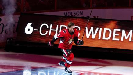 Chris Wideman, 28 anni, difensore degli Ottawa Senators AFP