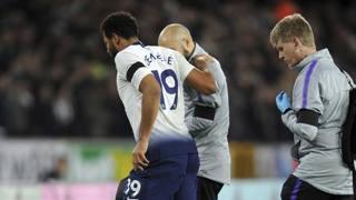 Mousa Dembele esce infortunato contro il Wolverhampton. Ap
