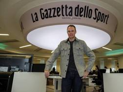 Chris Froome, 33 anni, in Gazzetta  BETTINI