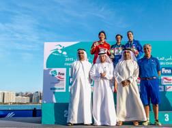 Azzurre sul podio ad Abu Dhabi