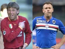 Cassano alla Roma dal 2001 al 2006. Fantantonio alla Samp dal 2007 al 2011 e poi nella stagione 2015-2016.