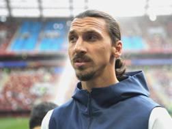 Zlatan Ibrahimovic, attaccante dei L.A. Galaxy. Getty