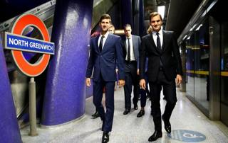 Atp Finals: Federer & co in metro fino a Westminster
