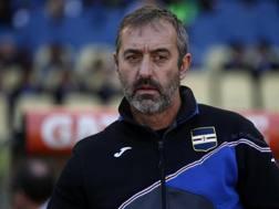 Marco Giampaolo, tecnico della Sampdoria. Ansa
