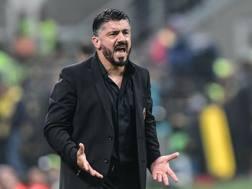 Gennaro Gattuso, 40 anni, allenatore del Milan. Afp