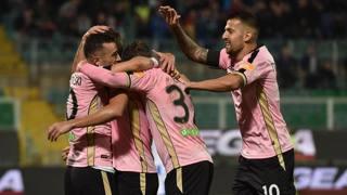 L'esultanza del Palermo. Getty