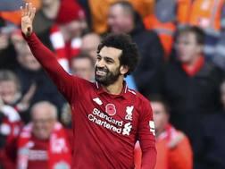 Mohamed Salah, 26 anni, attaccante del Liverpool. Ap