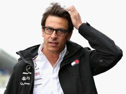 Il team principal della Mercedes Toto Wolff, 46 anni. Getty