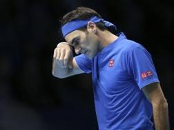 Roger Federer, 37 anni. Ap