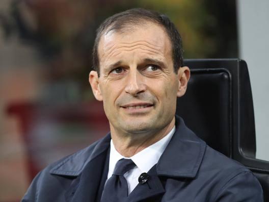 Massimiliano Allegri. Getty