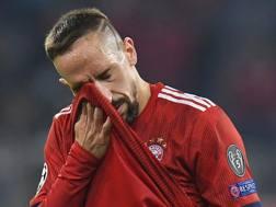 Franck Ribery al Bayern Monaco dal 2007. Afp