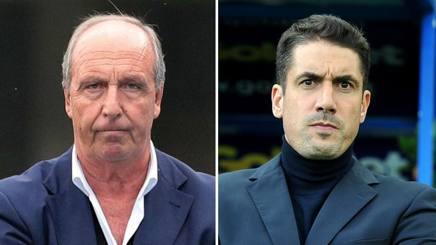 Giampiero Ventura e Julio Velazquez. Ansa-LaPresse