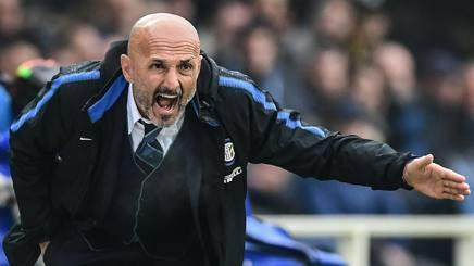 Luciano Spalletti, allenatore dell'Inter. Afp