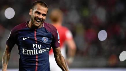 Daniel Alves, difensore del Paris Saint-Germain. Getty
