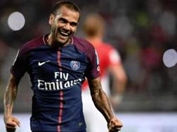 Daniel Alves, difensore del Paris Saint-Germain. Getty
