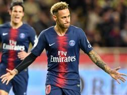 Neymar, attaccante del Psg. Afp