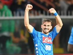 Fabian Ruiz, centrocampista del Napoli. LaPresse