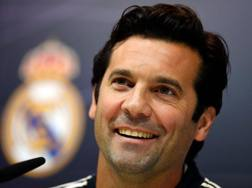 Santiago Solari, allenatore del Real Madrid. Afp