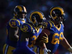 Il running back dei Rams, Todd Gurley