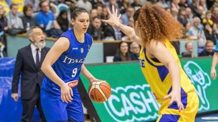Cecilia Zandalasini, 22 anni, colonna della Nazionale. Fiba