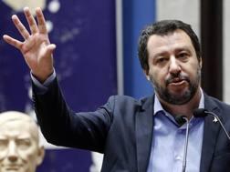 Matteo Salvini, ministro degli Interni. Ansa