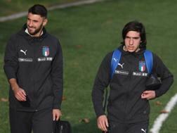 Vincenzo Grifo e Sandro Tonali, debuttanti in Nazionale. Getty